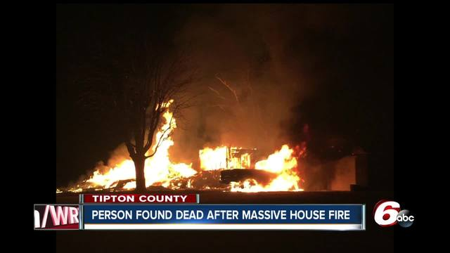 Human remains found in debris of home destroyed by fire in Tipton County