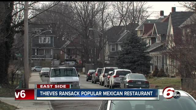 Thieves steal copper from popular Mexican restaurant