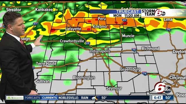 ALERT- 2- - 4- of rain through Wednesday