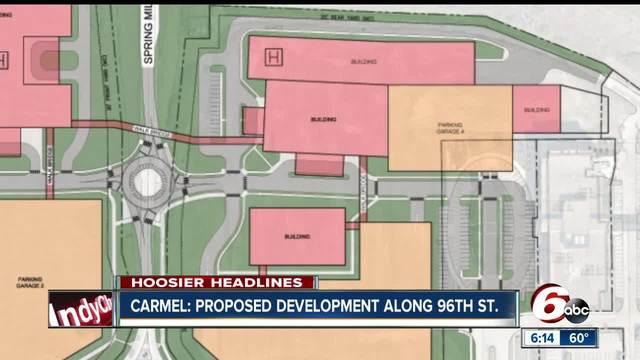 Rezoning requested for -1 billion hospital on Meridian Street corridor in Carmel