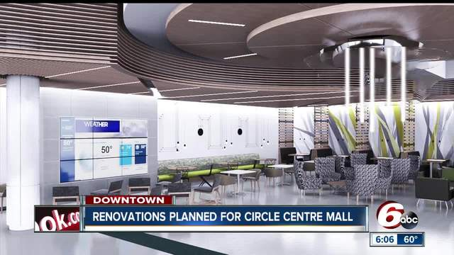Multi-million dollar renovation planned for Circle Centre Mall