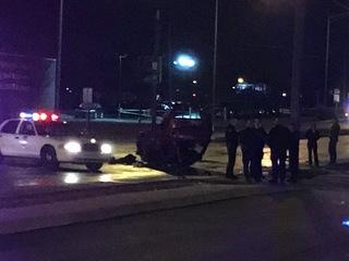 Man killed in rollover crash on Indy's west side