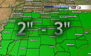 ALERT: Flood Watch continues. More rain tonight.