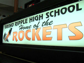 Broad Ripple HS plays last home basketball game