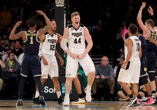 Purdue falls to Michigan in B1G championship