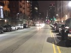 Multiple lane markers downtown cause confusion