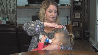 New Pal mom warns consumers about hair product