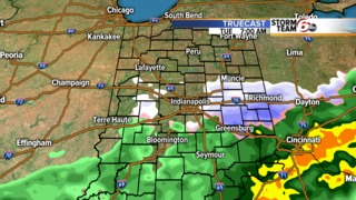 Rain chances increase tonight. Some snow ahead!