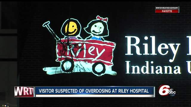 Woman overdoses on heroin in bathroom at Riley Hospital for Children