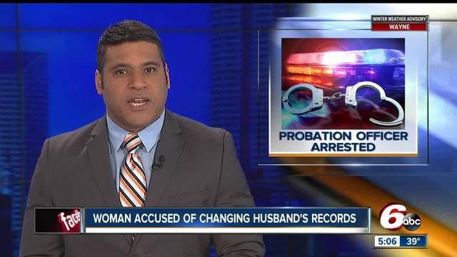 Ex-probation officer accused of falsifying husband-s probation records