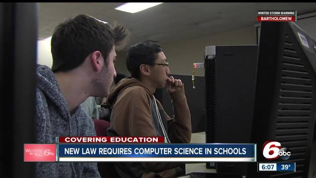 New law will require schools to offer computer science courses
