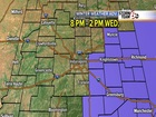 Winter Weather Advisory for parts of C. Indiana