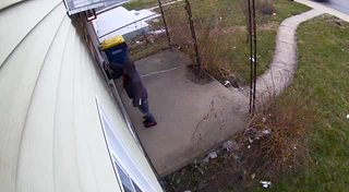 Woman caught on video stealing mail in Indy