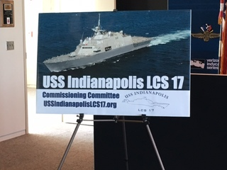 PHOTOS: Unveiling of USS Indianapolis crest