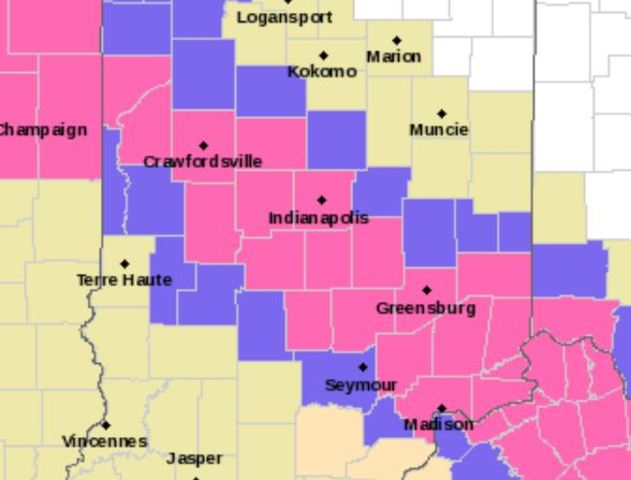 Winter Storm Warning issued for parts of C. Ind.