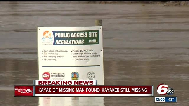 Missing 26-year-old Columbus man's kayak found