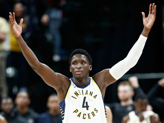Pacers start strong, finish strong to stun Cavaliers in playoff opener