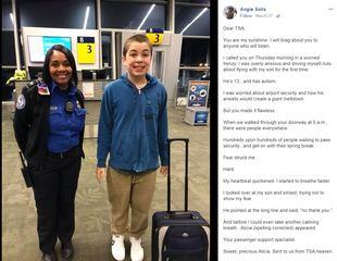 Special TSA program gets attention after post