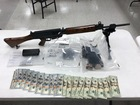 Guns, drugs found during search; 3 arrested