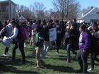 Local students walk out to protest gun violence