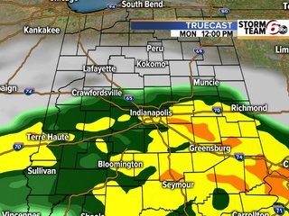 TIMELINE: Pesky showers expected today