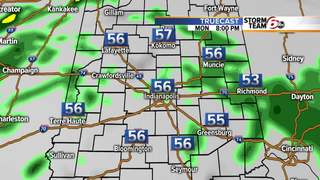 ALERT: Scattered showers this afternoon