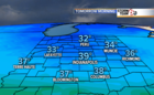 Frost for some tonight. Mild end to the week.