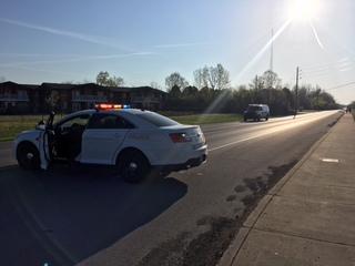 PD: Civilians block driver after hit-and-run