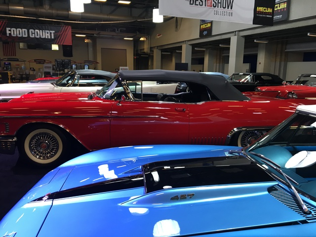 PHOTOS Car Lovers Dream At Mecum Auction At Indiana State - Car show indiana state fairgrounds