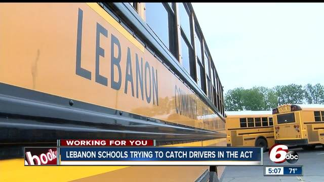 Lebanon schools installing cameras on school bus arms to catch drivers…