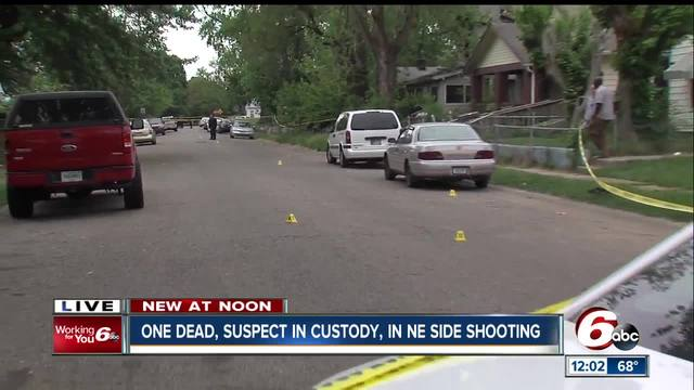 Person shot- killed on Indy-s northeast side