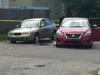 Man shot, killed in car on Indy's northeast side