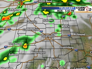 TIMELINE: Rain, scattered storms in forecast