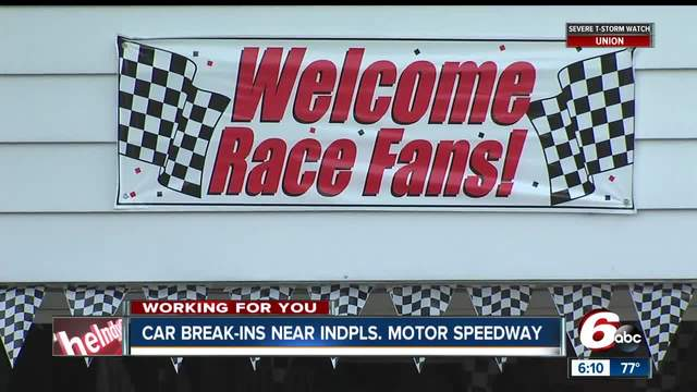 Who-s watching your vehicle during race week at IMS-