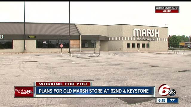 Plans in the works to bring new life to old Indy Marsh building