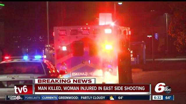 1 killed in double shooting on Indy-s east side