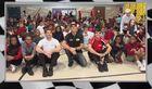 IndyCar drivers visit schools across Indy