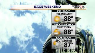 Beautiful day ahead: Temps in 80s, low humidity