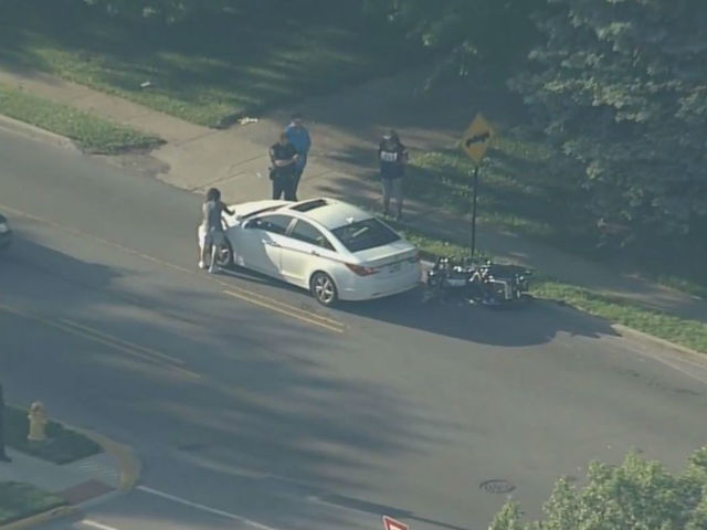 IMPD officer involved in motorcycle crash