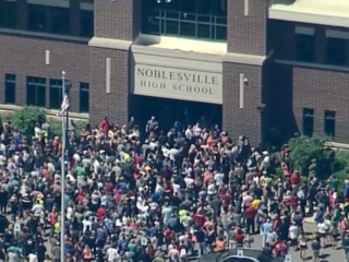 Secondary threat made to Noblesville High School