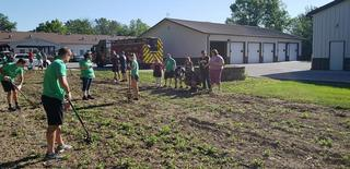 Danville Fire Department planting seeds of hope