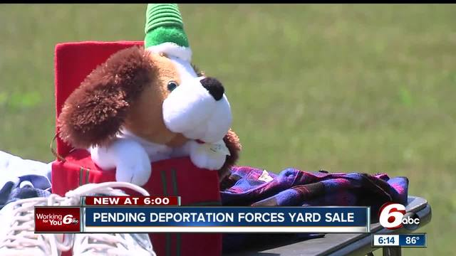 Mother facing deportation selling everything she owns