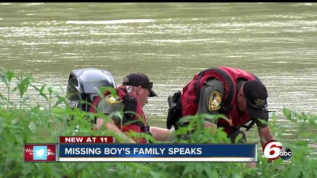 Search called off for evening for missing 6-year-old boy