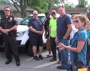 Lawrence police listening to citizen concerns