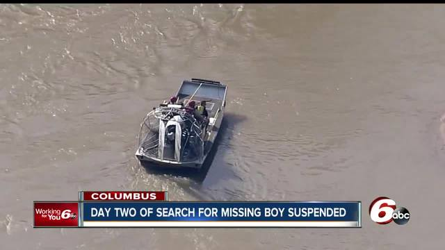 Still no sign of Columbus boy who was swept away by the Flat Rock River