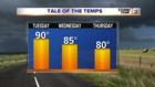 Temps lower and rain chances higher this week
