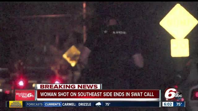 Three in custody after shooting- SWAT call