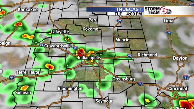 Cooler temps and more rain ahead