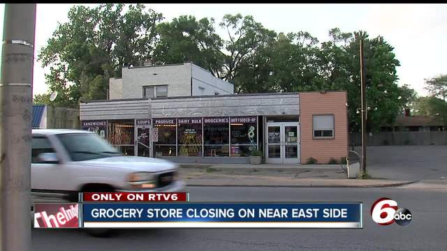 East side grocery store closing- leaving many in food desert
