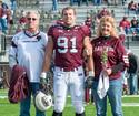 Seaman to grand marshal alma mater's homecoming